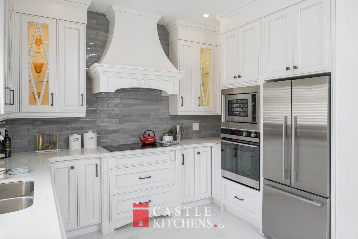 White Custom Kitchen Cabinets Toronto