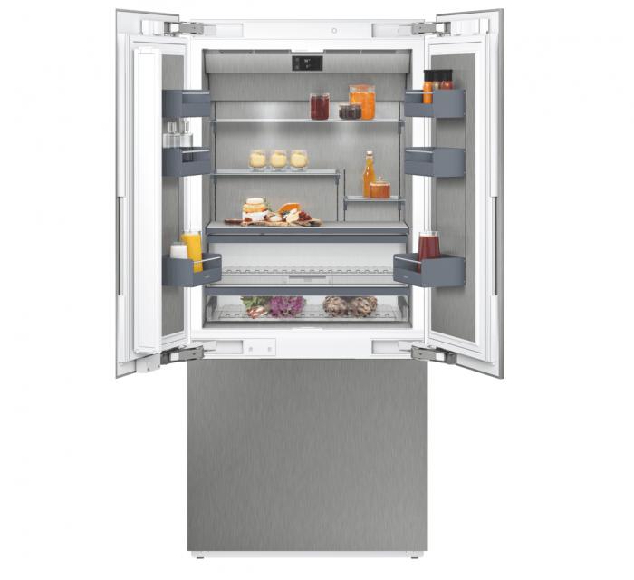 Gaggenau RY492704 Vario Three Door Bottom Freezer