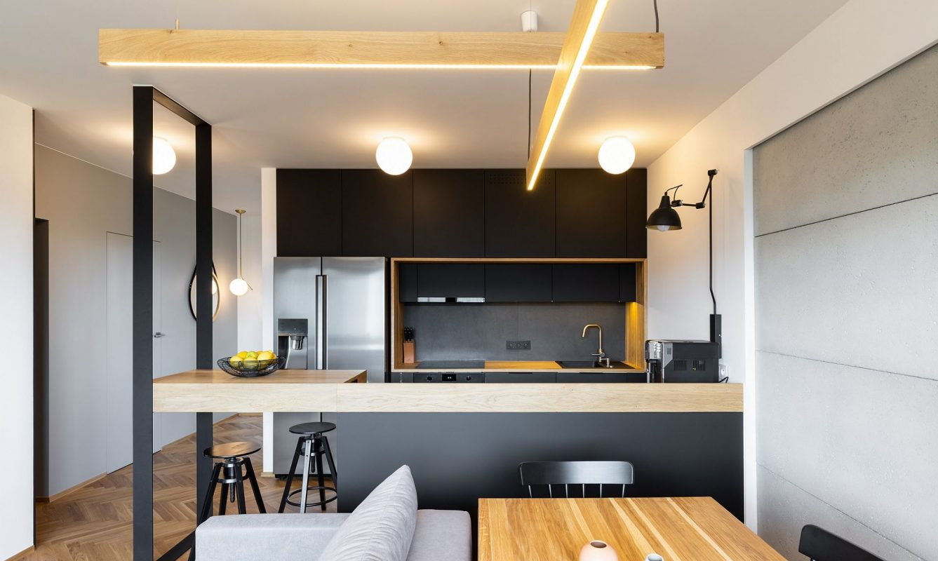 Black Kitchen Cabinets And Countertops - Castle Kitchens ...