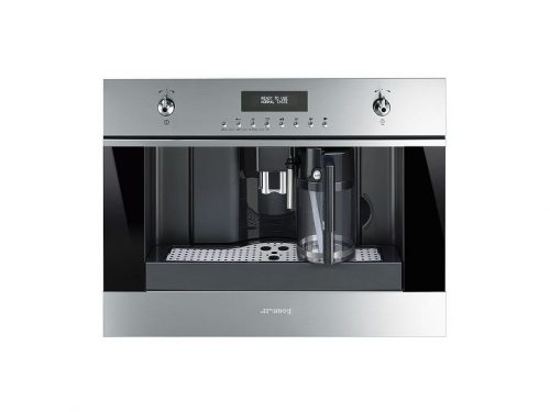 Smeg CMSU6451X 24 Inch Fully Automatic Coffee Machine
