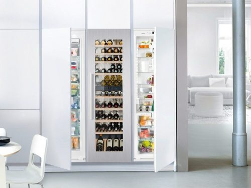 Liebherr HW8000 24 Inch Built-in Fully Integrated Wine Cabinet