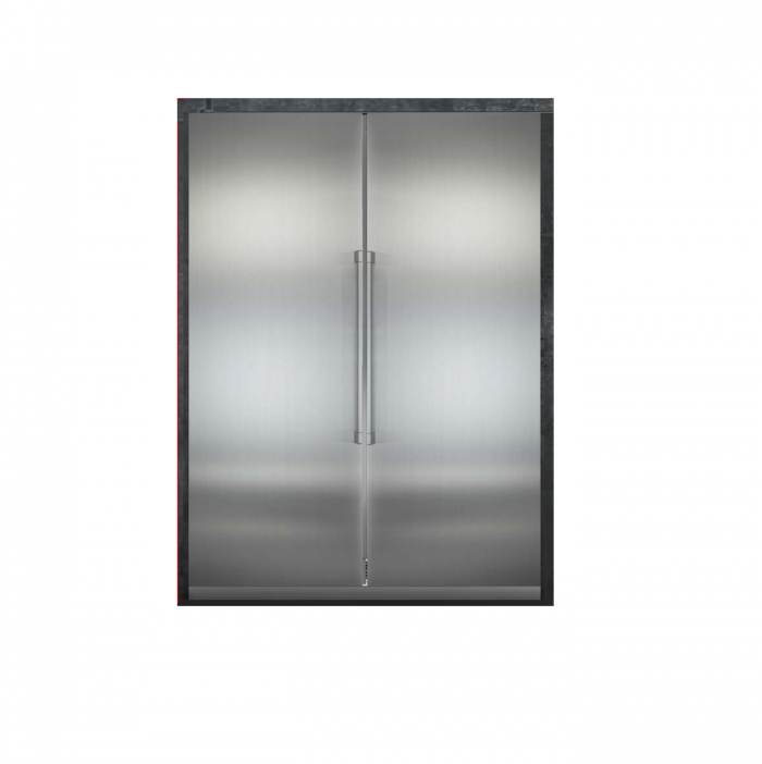Liebherr SBS2424M 48 Inch Fully Integrated Side by Side Refrigerator