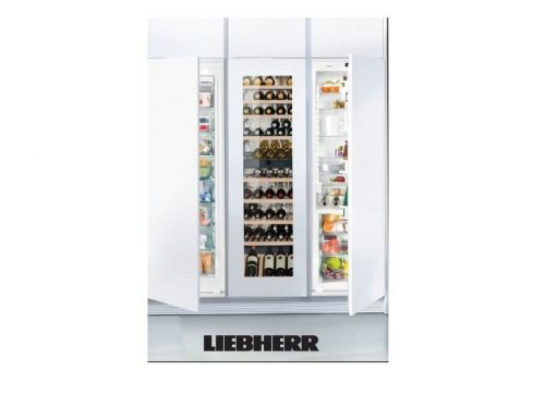 Liebherr TRIO‐72 Fully Integrated Fridge/Freezer/Wine Storage 72 Inch