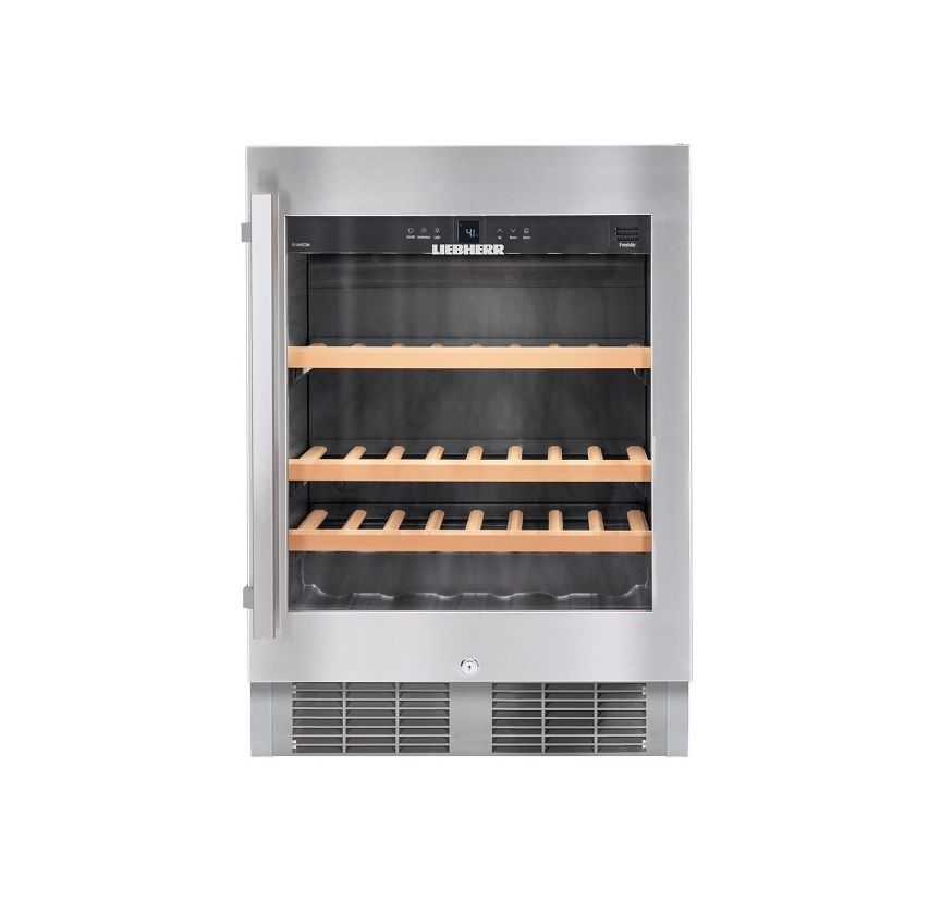 Liebherr WU4500 24 Inch Built-in Undercounter Wine Cabinet - Castle