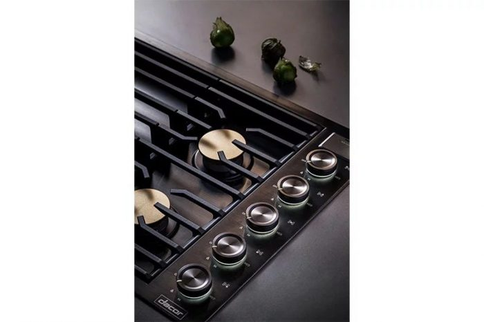 "Dacor DTG36M955FS Modernist 36"" Gas Cooktop"