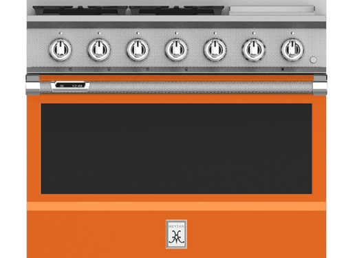 "Hestan KRD364GD-NG 36"" Dual Fuel Range"