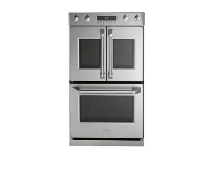 "Monogram ZET2FLSS 30"" Double Pro French-Door Wall Oven"