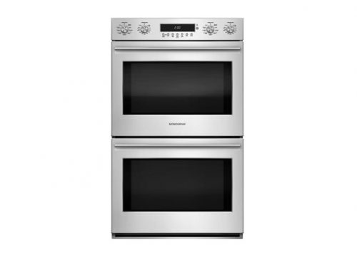 "Monogram ZET2SHSS 30"" Double European Wall Oven"