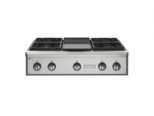 Monogram ZGU364NDPSS 36 Pro Rangetop with Griddle