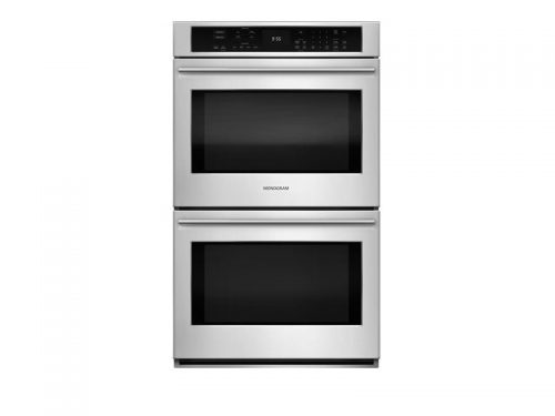 "Monogram ZET9550SHSS 30"" Double Wall Oven Glass Touch Controls"