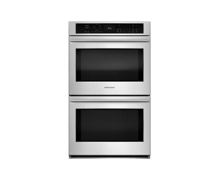 """Monogram ZET9550SHSS 30"""" Double Wall Oven Glass Touch Controls"""