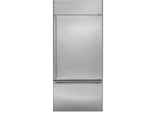 "Monogram ZICS360NHRH 36"" Bottom-Freezer Refrigerator"
