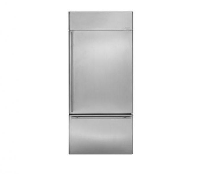 "Monogram ZICS360NHRH 36"" Bottom-Freezer Refrigerator"