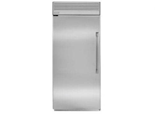 "Monogram ZIFP360NHLH 36"" Professional Built-In All Freezer"