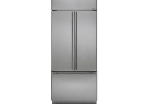 "Monogram ZIPS360NHSS 36"" French-Door Refrigerator"
