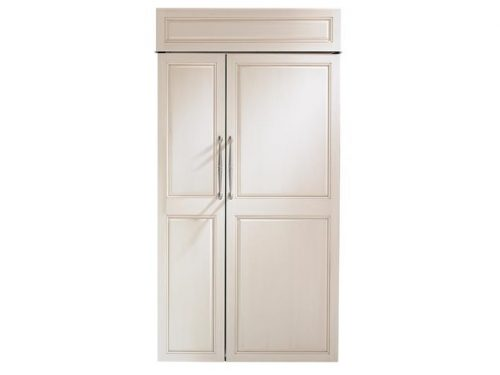 "Monogram ZIS420NK 42"" Built-In Side-By-Side Refrigerator"
