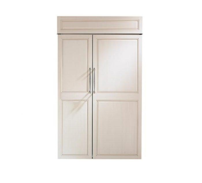 "Monogram ZIS480NK 48"" Built-In Side-By-Side Refrigerator"