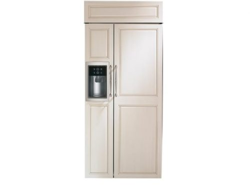 "Monogram ZISB360DK 36"" Built-In Side-By-Side Refrigerator"