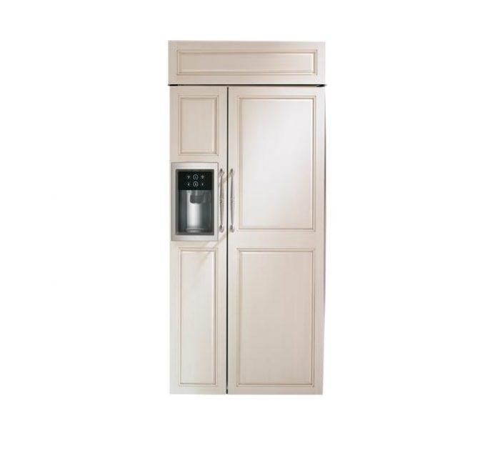 "Monogram ZISB360DK 36"" Built-In Side-By-Side Refrigerator"