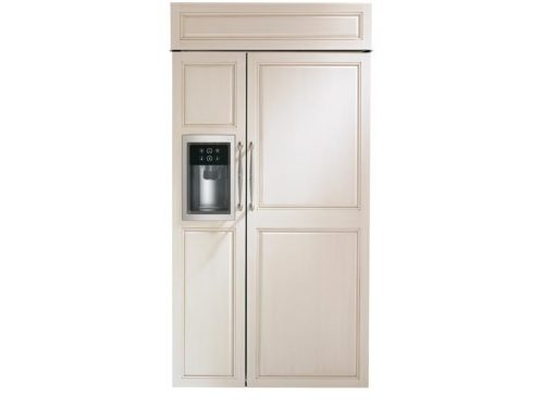 "Monogram ZISB420DK 42"" Built-In Side-By-Side Refrigerator"