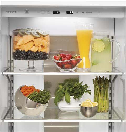 "Monogram ZISB480DK 48"" Built-In Side-By-Side Refrigerator"