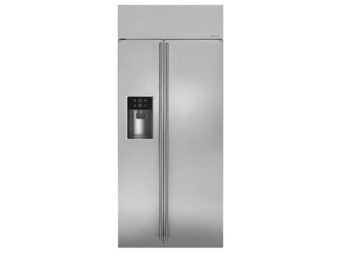 "Monogram ZISS360DKSS 36"" Built-In Side-By-Side Refrigerator"