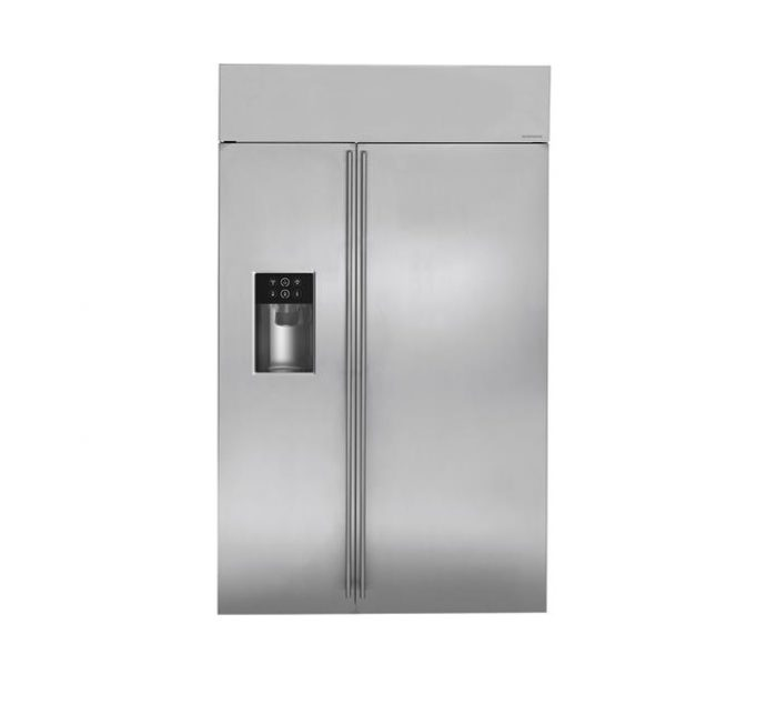 "Monogram ZISS480DKSS 48"" Built-In Side-By-Side Refrigerator"