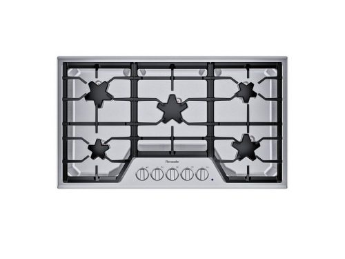 Thermador SGS365TS 36 Inch 5 Burner Gas Cooktop