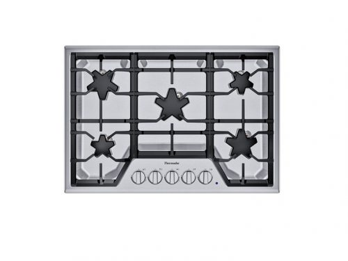 "Thermador SGSX305TS 30"" 5 Burner Gas Cooktop"