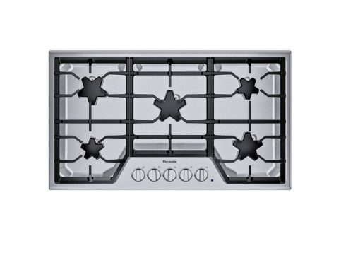 Thermador SGSX365TS 5 Star Burner Gas Cooktop