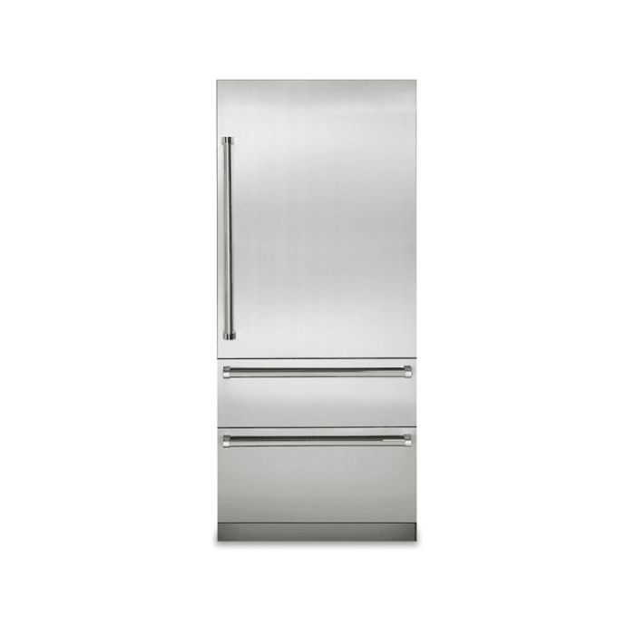 "Viking VBI7360WRSS 36"" Bottom-Freezer Refrigerator"