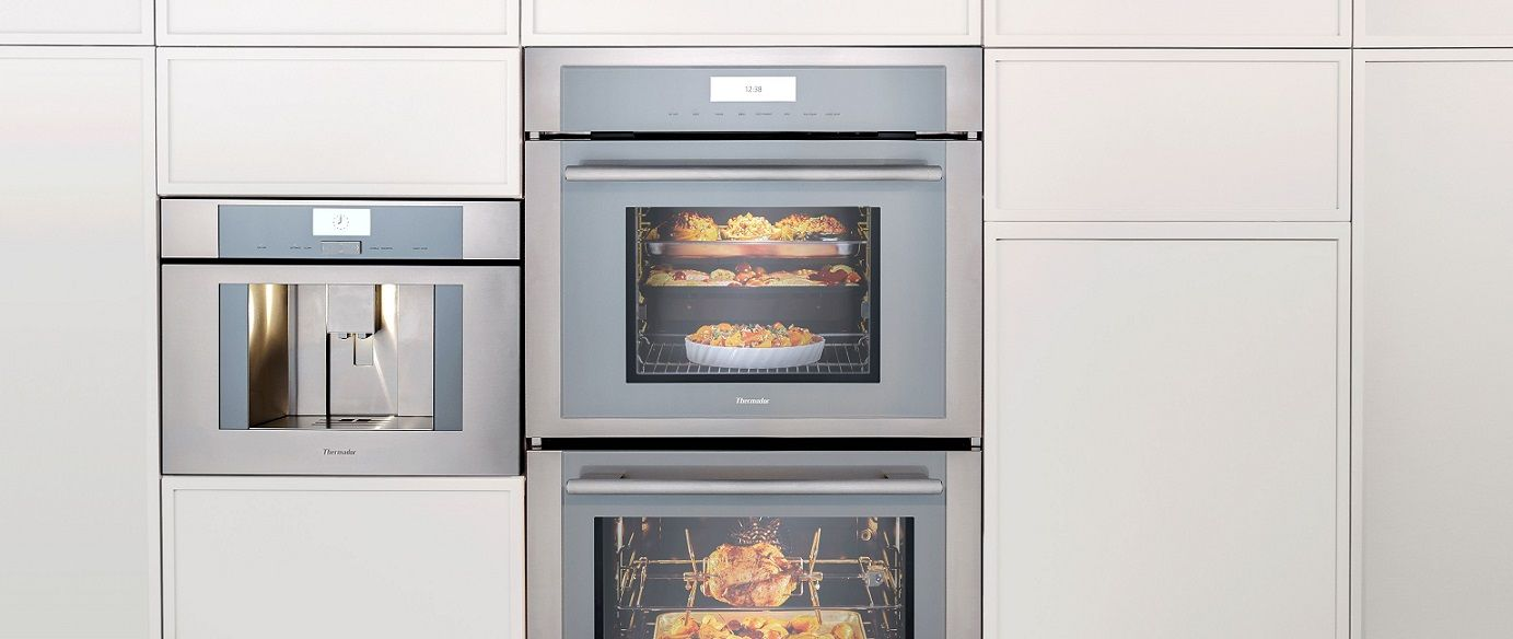 thermador 24 inch double wall oven