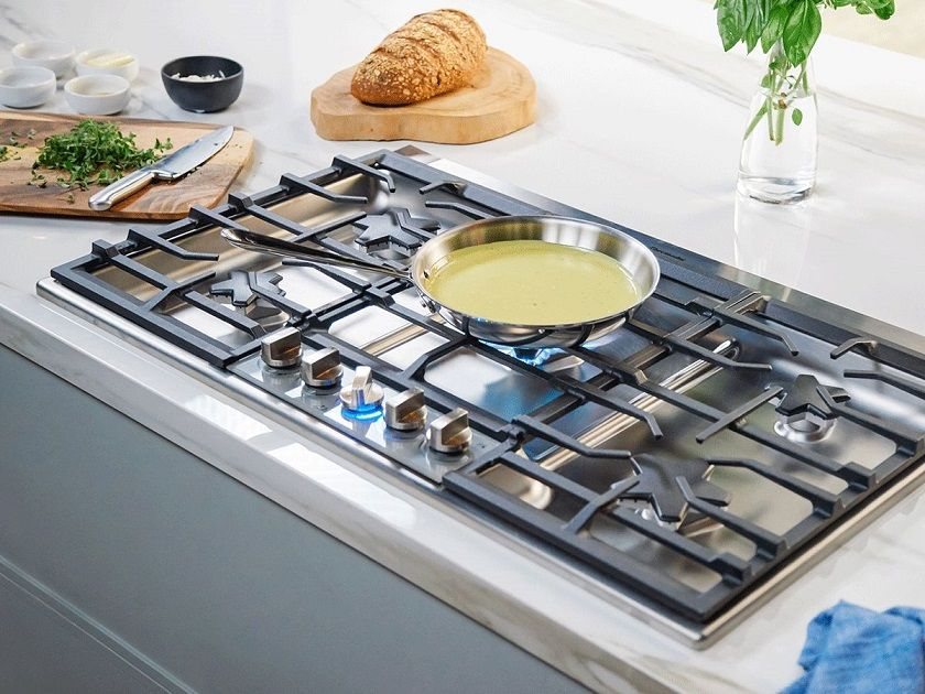 thermador masterpiece collection gas cooktop