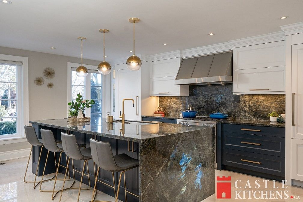 kitchen island renovation project Toronto