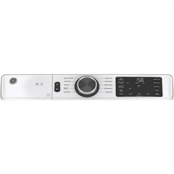 GE Appliances GFD55GSSNWW Gas Dryer White CONTROL PANEL