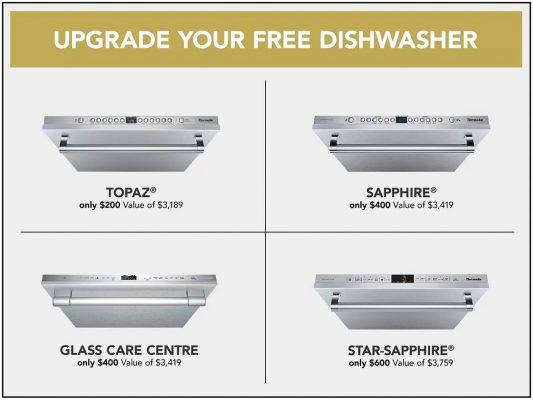 Thermador dishwasher promo