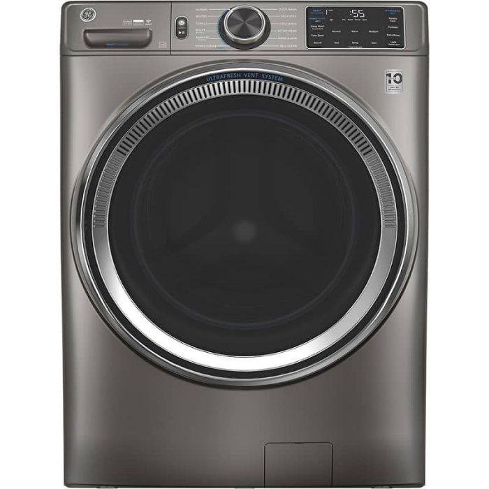 GE Canada GFW650SPNSN 5.5 CU Washer with Built-In Wifi Satin Nickel