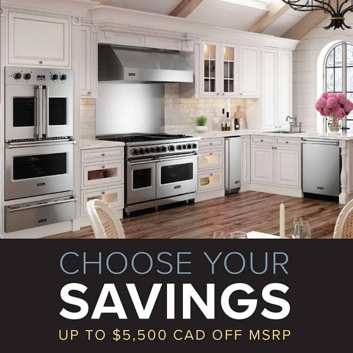 Viking Range 2021 Savings promotion