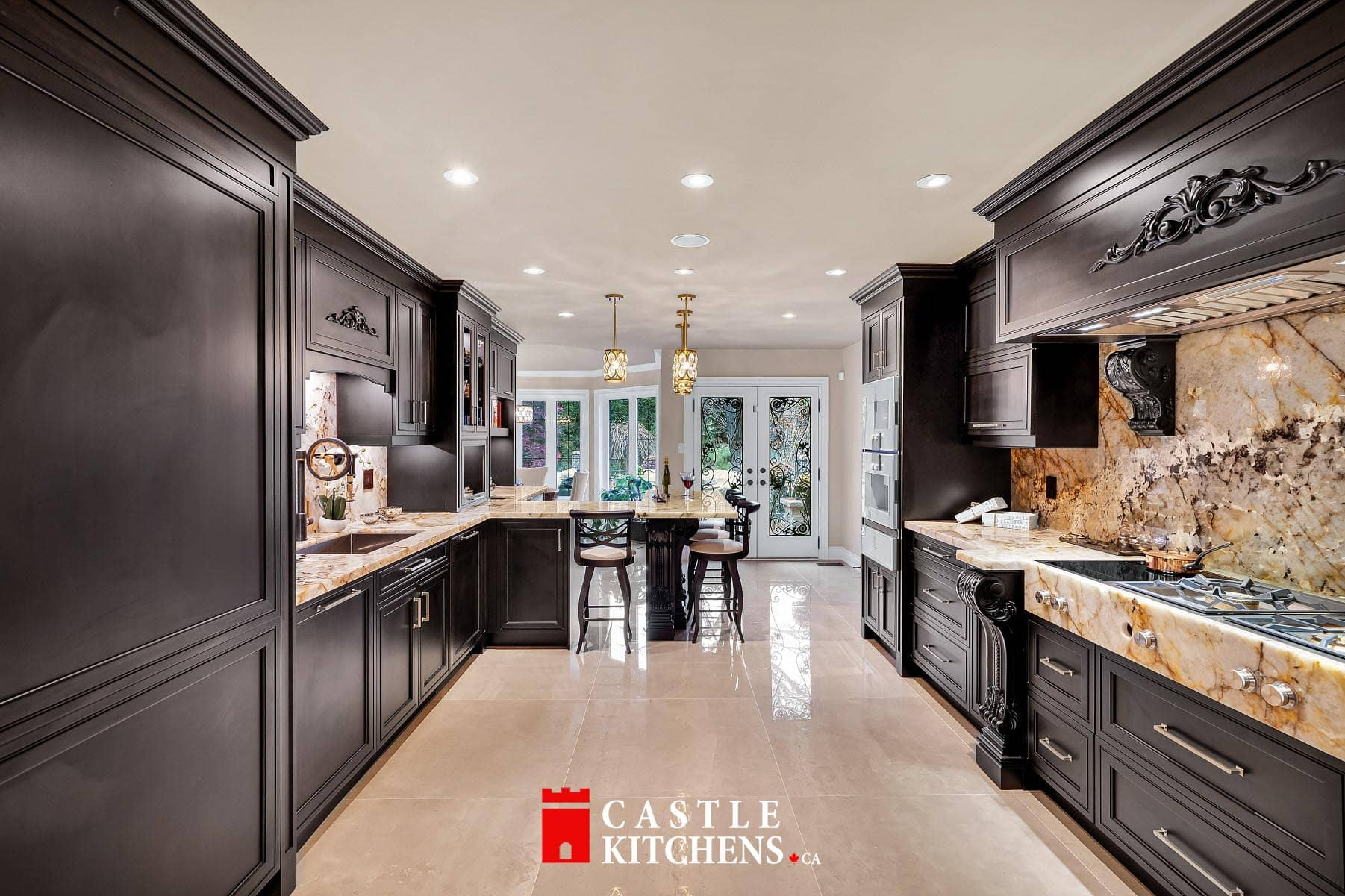 custom kitchen design Toronto