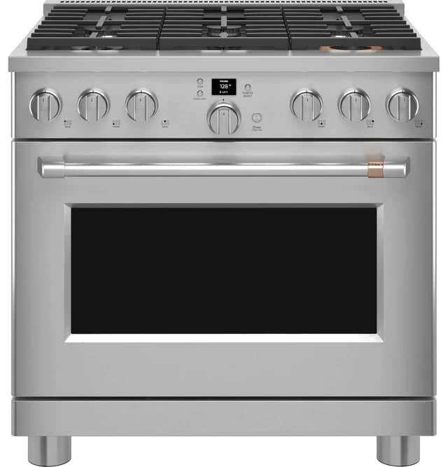 Cafe CGY366P3TD1 36 Inch Gas Range Stainless Steel