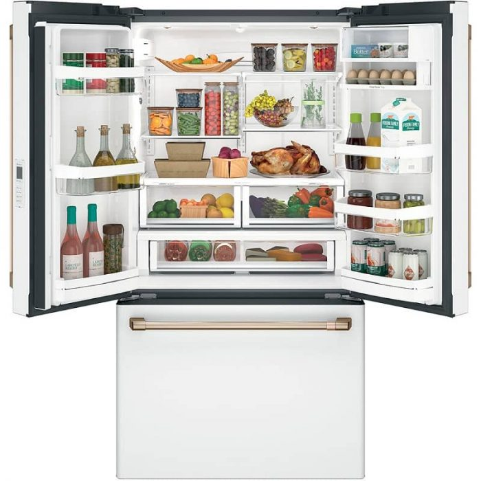 Cafe CWE23SP4MW2 Refrigerator Open Full