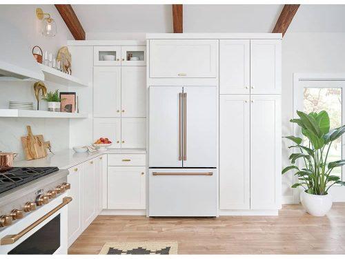 Cafe CWE23SP4MW2 Refrigerator MATTE WHITE LIFESTYLE