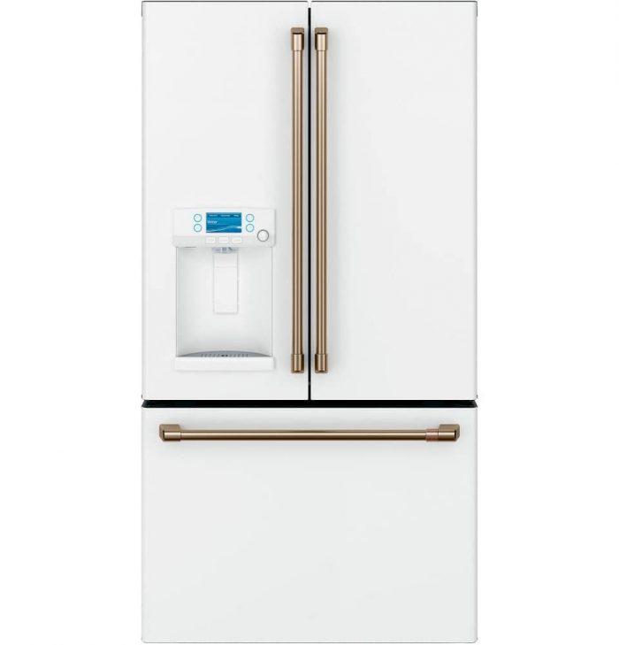 Cafe CYE22TP4MW2 French-Door Refrigerator MATTE WHITE