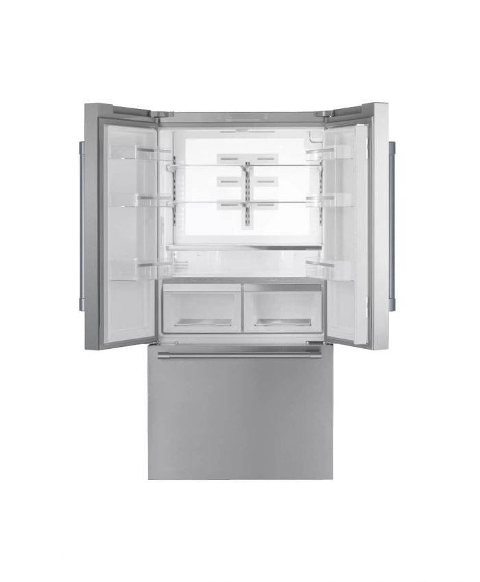 Thermador T36FT820NS 36 Inch French Door Freestanding Refrigerator Open