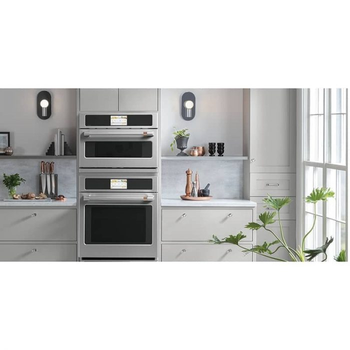 Cafe CSB923P2NS1 30 Inch Wall Oven STAINLESS STEEL LIFESTYLE