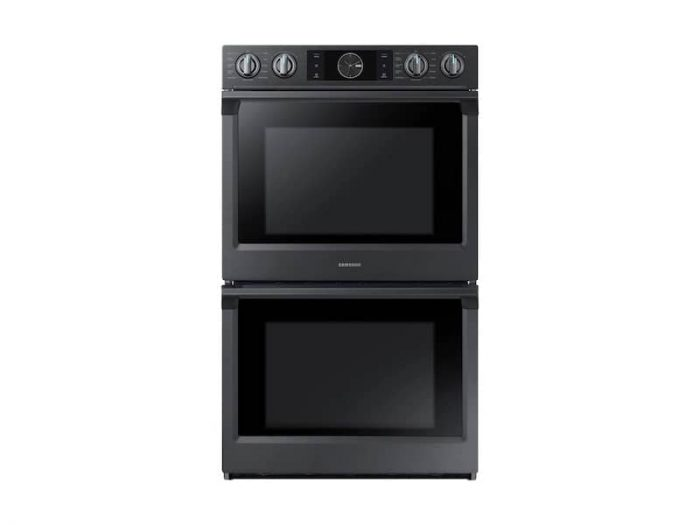 Samsung NV51K7770DG 30 Inch Smart Convection Double Wall Oven In Black Stainless Steel