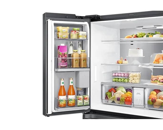 Samsung RF23A9771SG/AC 36 Inch Smart Counter Depth Refrigerator Black Stainless Steel
