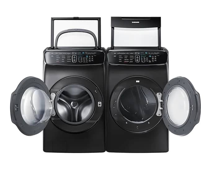 Samsung WV60M9900AVA5 Front Load Washer Pair
