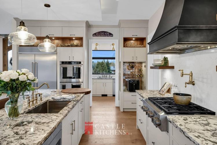 custom kitchen renovation project Pickering